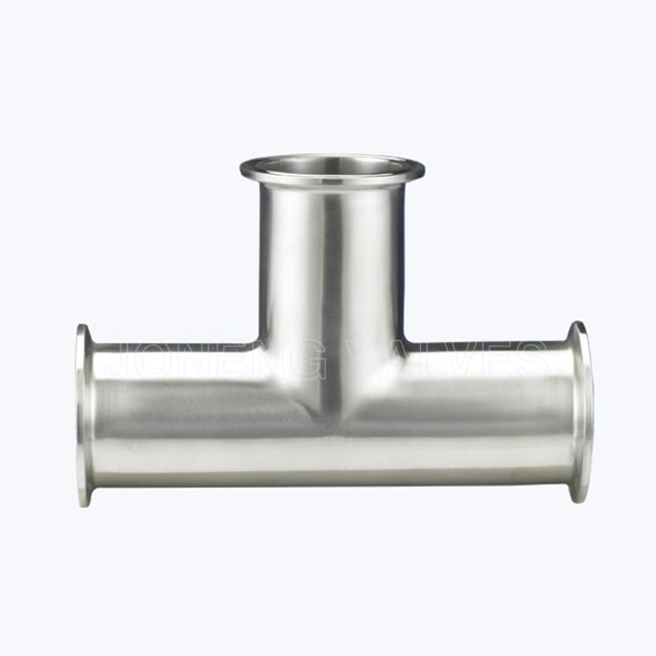 Sanitary 7MP tri-clamp equal tee