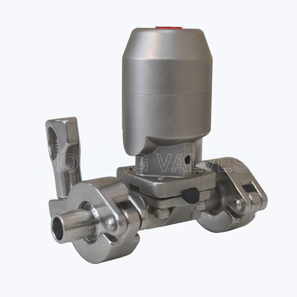 Sanitary Pneumatic diaphragm valves with triclover connection