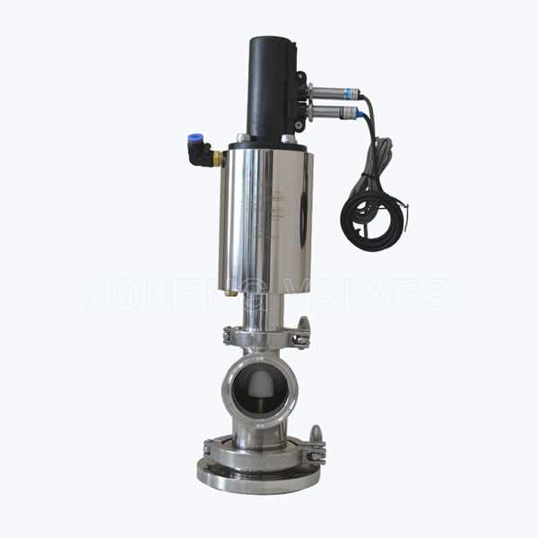 Sanitary Pneumatic tank bottom outlet valves