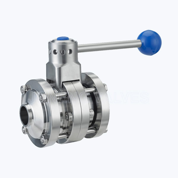 Sanitary water butterfly valves